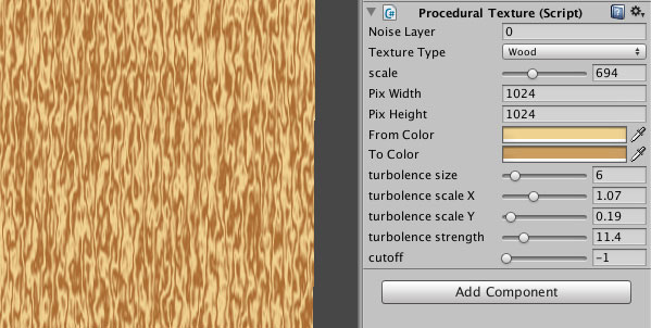 How created my own Procedural Textures for Unity3d | Dented